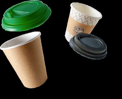 Бумажные стаканы с логотипом на заказ, печать логотипа на